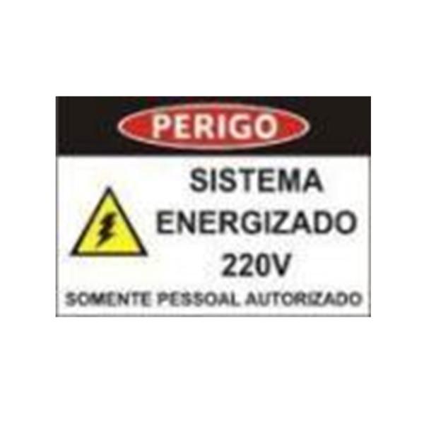 placa de sinalização elétrica